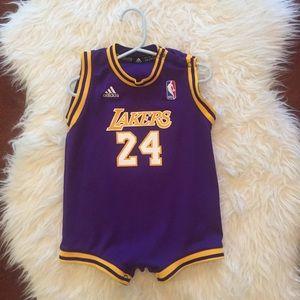 Baby Lakers Kobe Bryant Jersey One Piece